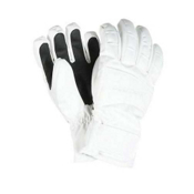 Obermeyer Alpine Girls Gloves, White, medium