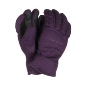 Obermeyer Alpine Girls Gloves, Plum, medium