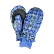 Obermeyer Radiator Girls Mittens, Provence Plaid, medium