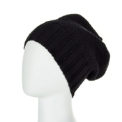 Obermeyer Cake Knit Kids Hat, Black, medium