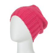 Obermeyer Cake Knit Kids Hat, Berry, medium