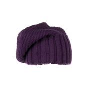 Obermeyer Cake Knit Kids Hat, Plum, medium