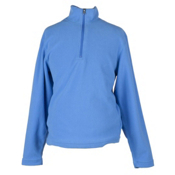 Obermeyer Ultra Gear 100 Micro Zip Kids Midlayer, Blue Hawaii, medium