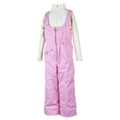 Obermeyer Snoverall Bib Toddler Girls Ski Pants, Bubble Pink, medium
