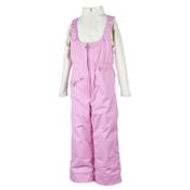 Obermeyer Snoverall Toddler Girls Bib, Bubble Pink, medium