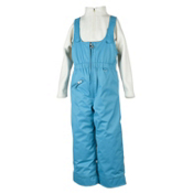 Obermeyer Snoverall Bib Toddler Girls Ski Pants, Glacier Blue, medium