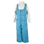 Obermeyer Snoverall Toddler Girls Bib, Glacier Blue, medium