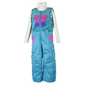 Obermeyer Love Bib Toddler Girls Ski Pants, Glacier Blue, medium