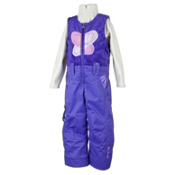 Obermeyer Love Bib Toddler Girls Ski Pants, Grape, medium