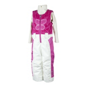 Obermeyer Love Bib Toddler Girls Ski Pants, China Pink, medium