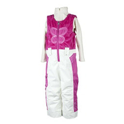 Obermeyer Love Toddler Girls Bib, China Pink, 256