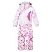 Obermeyer Astro Suit Toddlers One Piece Ski Suit, Cotton Candy, medium