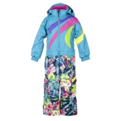 Obermeyer Astro Suit Toddlers One Piece Ski Suit, Glacier Blue, medium