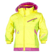 Obermeyer Sunrise Toddler Girls Ski Jacket, Sun, medium