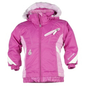 Obermeyer Sunrise Toddler Girls Ski Jacket, China Pink, medium