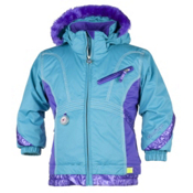 Obermeyer Sunrise Toddler Girls Ski Jacket, Glacier Blue, medium