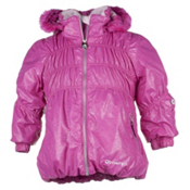Obermeyer Sheer Bliss Toddler Girls Ski Jacket, China Pink, medium