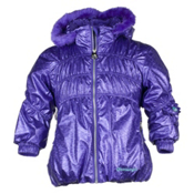 Obermeyer Sheer Bliss Toddler Girls Ski Jacket, Grape, medium