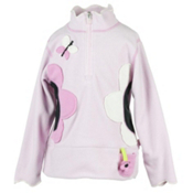 Obermeyer Gaga Fleece Kids Midlayer, Cotton Candy, medium