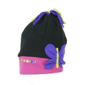 Obermeyer BF Fleece Toddlers Hat, Black, medium
