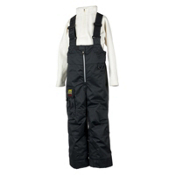 Obermeyer Volt Suspender Toddlers Ski Pants, Black, medium