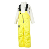 Obermeyer Volt Suspender Toddlers Ski Pants, Acid Yellow, medium