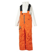 Obermeyer Volt Suspender Toddlers Ski Pants, Juice, medium