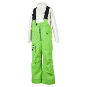 Obermeyer Volt Suspender Toddlers Ski Pants, Pro Green, medium