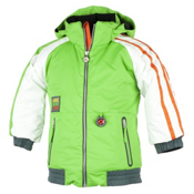 Obermeyer Slopestyle Toddler Ski Jacket, Pro Green, medium