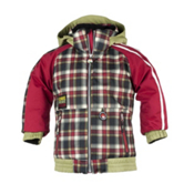 Obermeyer Slopestyle Toddler Ski Jacket, Lumberjack Plaid, medium