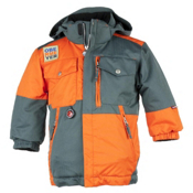 Obermeyer Superpipe Toddler Ski Jacket, Slate, medium