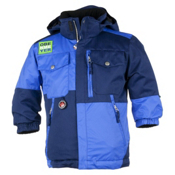 Obermeyer Superpipe Toddler Ski Jacket, Medieval Blue, medium