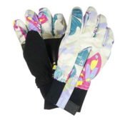 Obermeyer Thumbs Up Girls Toddlers Gloves, Daylight Butterfly Garden Prnt, medium