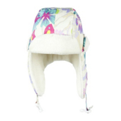 Obermeyer Flap Toddlers Hat, Daylight Butterfly Garden Prnt, medium