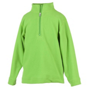 Obermeyer UG 100 Micro Zip T Kids Midlayer, Pro Green, medium