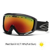 Smith Prophecy Goggles 2013, Black-Red Sol X Mirror, medium
