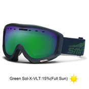 Smith Prophecy Goggles 2013, Martime Camp Evolve-Green Sol X Mirror, medium