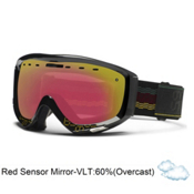 Smith Prophecy Goggles 2013, Irie Cinch-Red Sensor Mirror, medium
