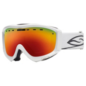 Smith Prophecy Goggles 2013, White-Red Sol X Mirror, medium