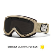 Smith Phenom Goggles 2013, Black-White Dark Sky-Blackout, medium