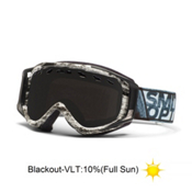 Smith Stance Goggles 2013, Black-White Dark Sky-Blackout, medium