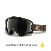 Oakley Crowbar Kazu Kokubu Goggles 2013, Sleeping Giant-Dark Grey, medium