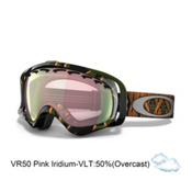 Oakley Crowbar Kazu Kokubu Goggles 2013, Sleeping Giant-Vr50 Pink Iridium, medium