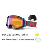 Oakley Airbrake Seth Morrison Goggles 2013, Unification-H.i. Persimmon and Dark Grey, medium
