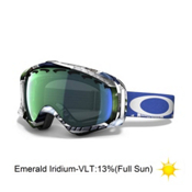 Oakley Crowbar JP Auclair Goggles 2014, Slide Show-Emerald Iridium, medium