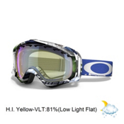 Oakley Crowbar JP Auclair Goggles 2014, Slide Show-H.i. Yellow, medium