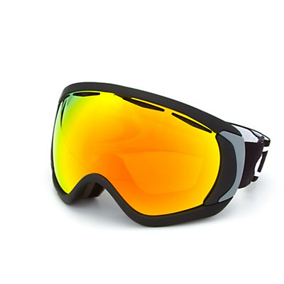 Oakley Canopy Goggles, Matte Black-Fire Iridium, viewer