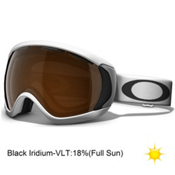 Oakley Canopy Goggles 2014, Matte White-Black Iridium, medium
