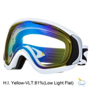 Oakley Canopy Goggles 2013, Matte White-H.i. Yellow, medium