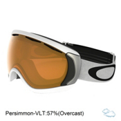 Oakley Canopy Goggles, Matte White-Persimmon, medium